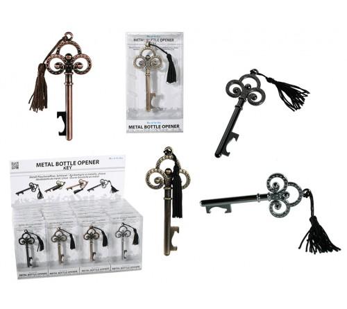 Metalinis raktų pakabukas - atidarytuvas