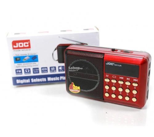 Nešiojamasis garsiakalbis su FM radiju JOC FM MP3 grotuvas su įkraunamu akumuliatoriumi
