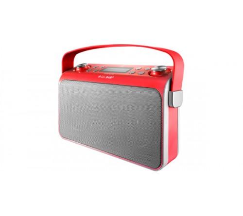 Lenco įkraunamas radijas DAB + / PLL FM / Bluetooth (R) ir NFC