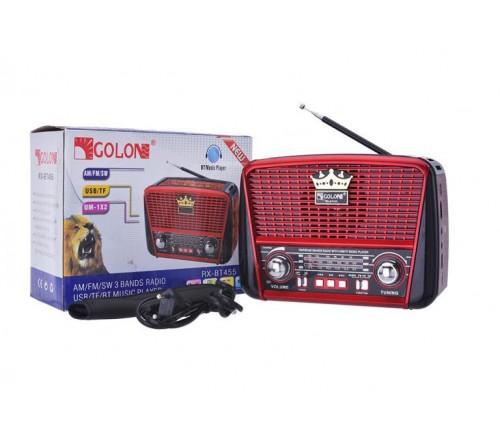 Radijas GOLON BT455 / kraunamas