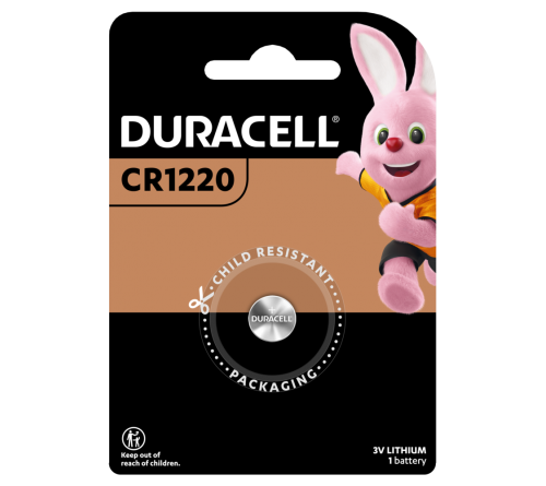 Duracell CR1220 Lithium 3V