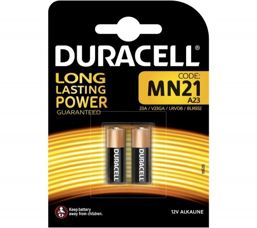 Duracell MN21 A23 12V  2vnt.