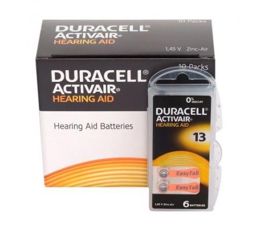 Duracell ActivAir 13 baterijos klausos aparatams