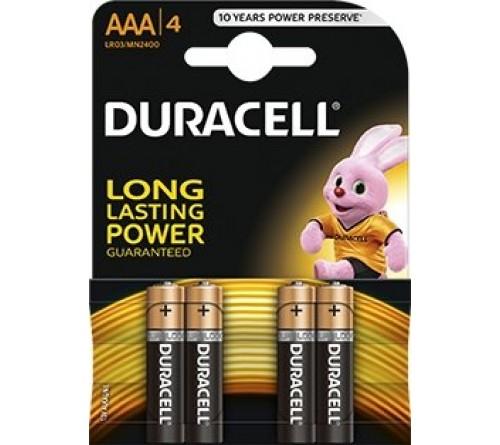 Duracell LR3/AAA 4vnt.