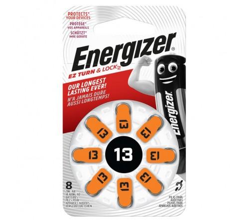 Energizer 13 / PR48 8 vnt. baterijos klausos aparatams