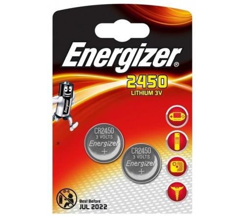 Energizer CR2450 3V 2x baterijos