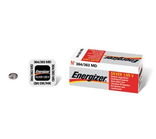 Energizer 364 - 363 sidabro oksido baterija