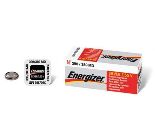 Energizer 390 - 389 sidabro oksido baterija