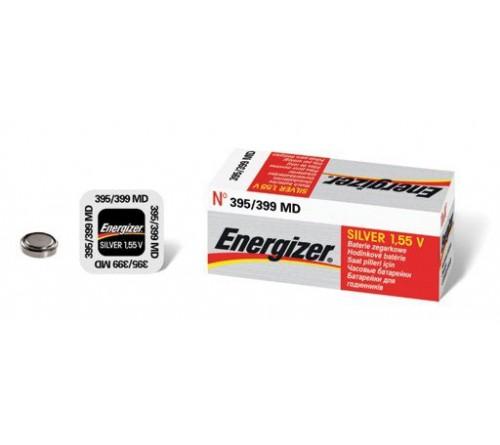 Energizer 395 -399 sidabro oksido baterija