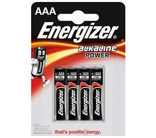 Energizer Alkaline Power AAA/LR3 4x baterijos