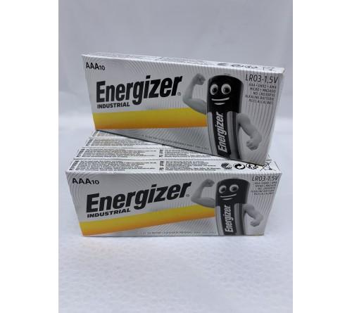 Energizer Industrial LR3 AAA 10 vnt. baterijų