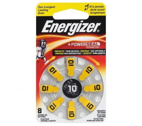 Energizer 10 / PR70 / 8 vnt.  baterijos klausos aparatams