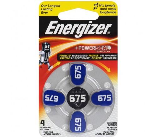 Energizer 675 / PR44 / 4 vnt. baterijos klausos aparatams