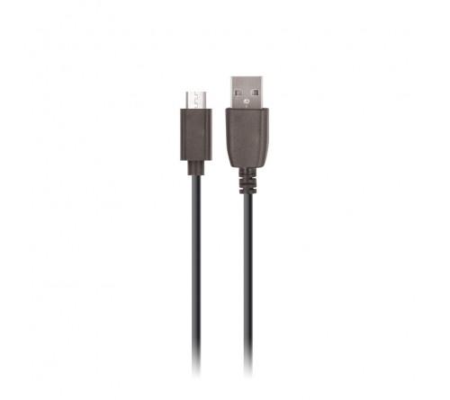 Kabelis Maxlife Micro USB Fast Charge 2A 1m juodas
