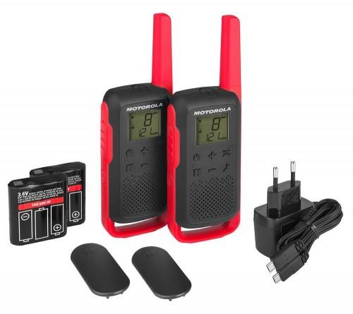 Racija Motorola Talkabout T62 Raudona