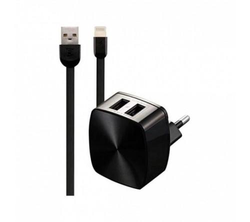 Telefono kroviklis Remax USB-Lightning 1m 2.4A