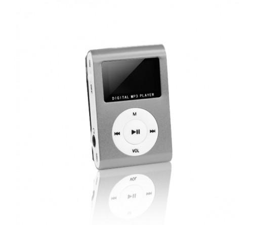 Setty MP3 Super Compact Music Player su LCD ekranu / FM radijas bei MicroSD + ausinės