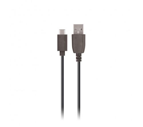 Krovimo laidas USB Setty 1m 2A type- C juodas