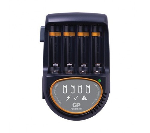 GP įkroviklis PB50 + 4 x AA/R6 2700 NiMH akumuliatoriai