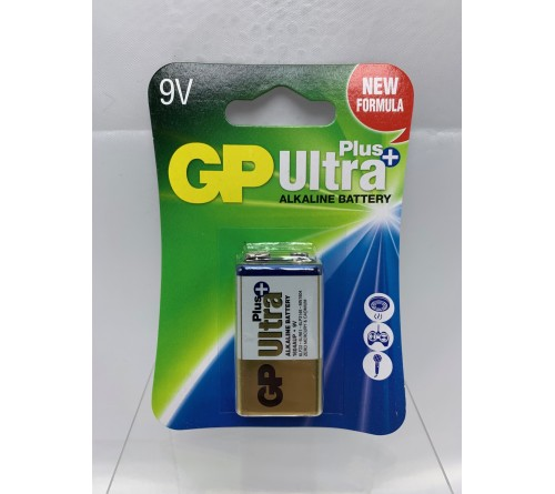 GP Ultra Plus 9V šarminė baterija