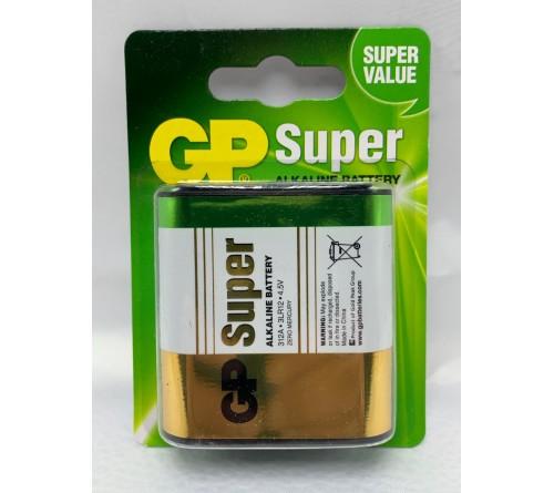 GP Super 4.5V 312A 3LR12 šarminė baterija