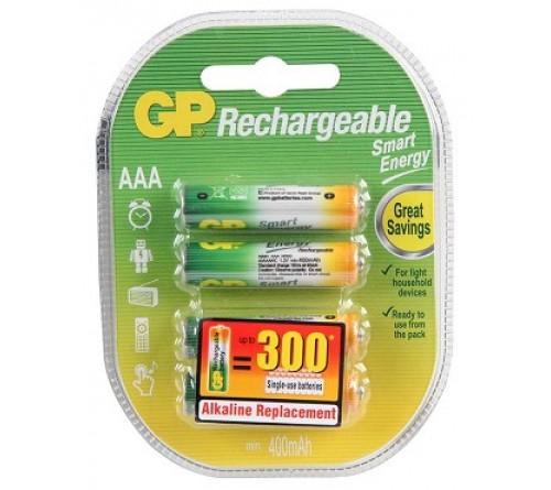 GP akumuliatorius AAA / 400 mAh / 4 vnt / 1,2 V