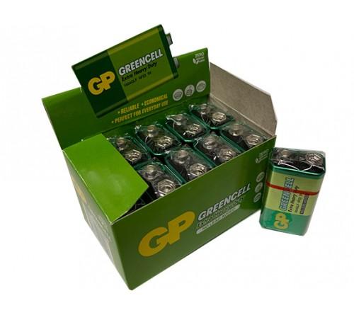 GP GREENCELL EXTRA HEAVY DUTY 9V baterija