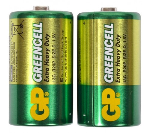 GP GREENCELL EXTRA HEAVY DUTY R20 / D