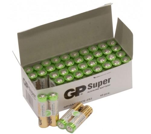 GP SUPER ALKALINE AA/R6 2 vnt. baterijos