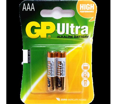 GP Ultra Alkaline Baterijos 2 vnt. blisteris