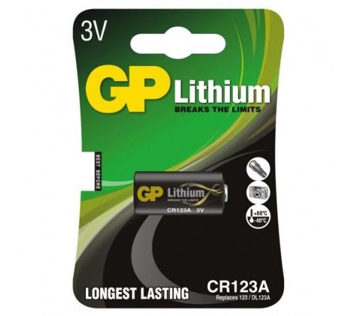 GP CR123 ličio baterija