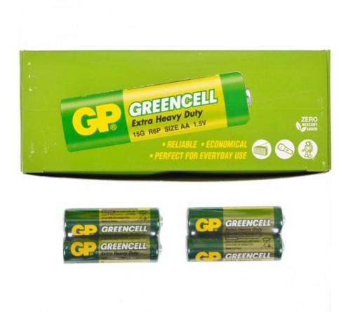GP GREENCELL EXTRA HEAVY DUTY AA/R6 2x baterijos