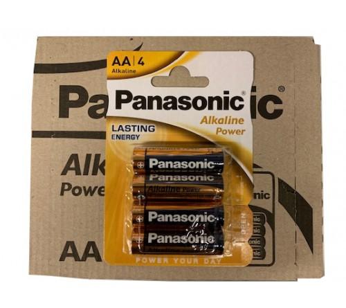 Panasonic Alkaline Power AA/LR6 4x baterijos