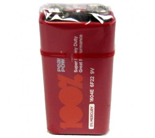 GP PeakPower 100% 6F22 9V baterija