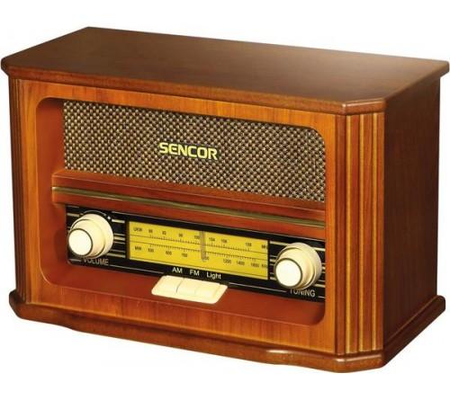 Retro radio SENCOR