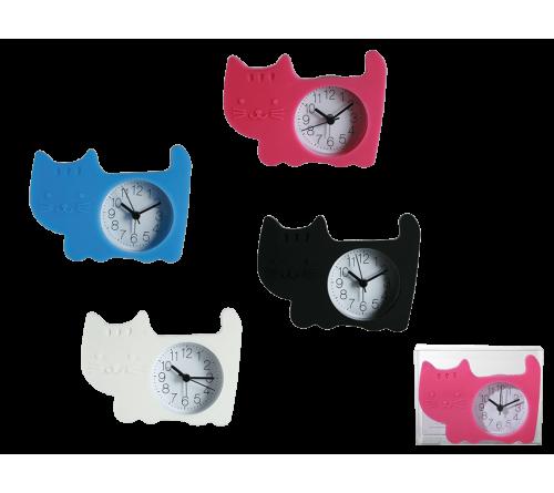 Silikoninis laikrodis katinas