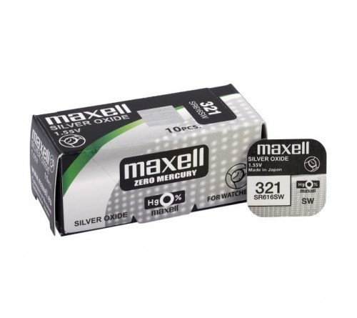 Maxell 321 / SR 616 SW / 1.55V