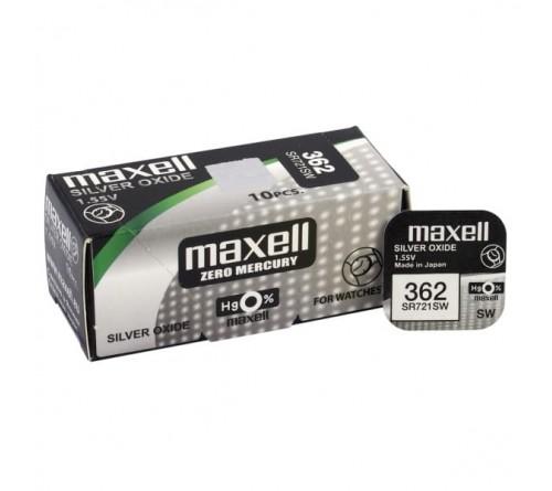 Maxell 362 / 361 / SR 721 SW / G11 / 1.55V