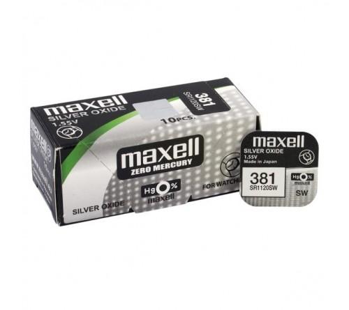 Maxell 381 / 391 / SR 1120 SW / G8 / 1.55V
