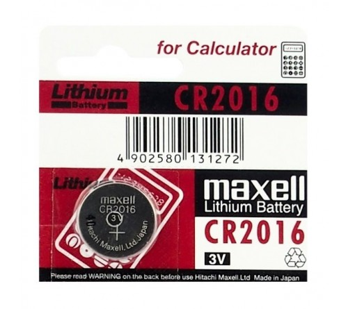 Maxell CR2016 / 3V
