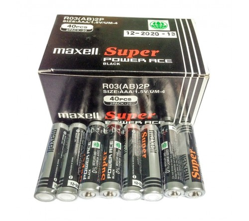 MAXELL Super Power Ace AAA / R3 2vnt.