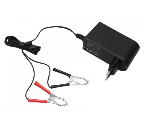 Akumuliatoriaus įkroviklis 12V-V2.0 LED
