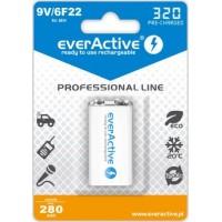 EverActive 6F22/9V Ni-MH 350 mAh akumuliatorius