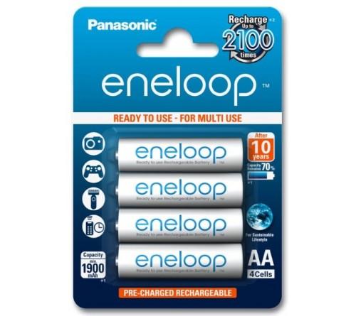 Panasonic Eneloop AA / R6 2000mAh akumuliatoriai 4 vnt.