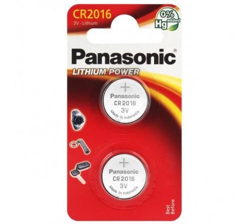Panasonic CR2016 2x baterijos / blisteris