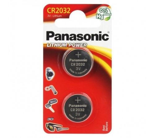 Panasonic CR2032 2x baterijos / blisteris