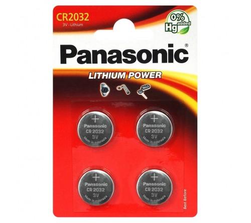 Panasonic CR2032 4x baterijos / blisteris