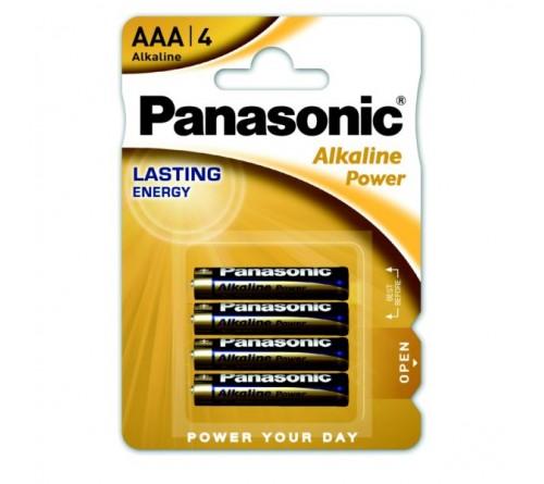 Panasonic Šarminės baterijos R3 / AAA 1.5V 4vnt pakuotėje
