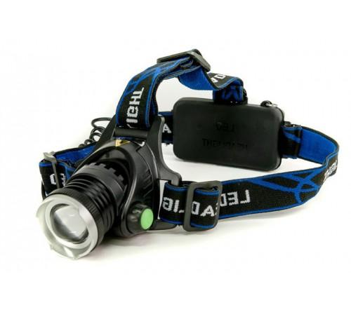 Žibintuvėlis TIROSS TS-1195 tvirtinamas ant galvos fokusuojamas 10W CREE LED