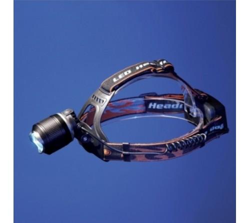 Žibintuvėlis tvirtinamas ant galvos fokusuojamas 10W IPX4 TIROSS TS-1147